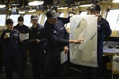 Cutter Healy crew prepares to get underway
