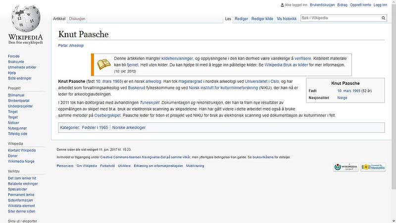 knut paasche wiki