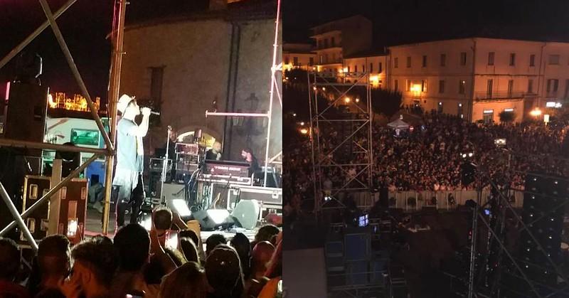 Concerto di Fabrizio Moro a Teggiano