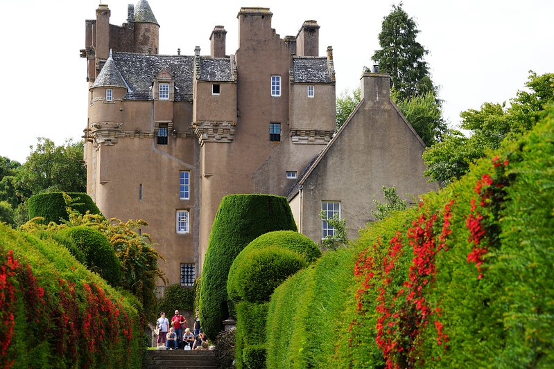 Crathes Castle.