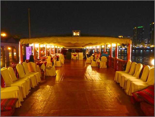 Restaurant Dhow, Dubai Creek, Panasonic DMC-TZ40