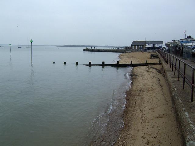 The coast at Leigh-on-Sea