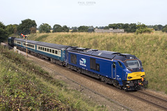 68028 trails from Acle working 2P11 0845 Great Yarmouth - Norwich 16/8/2017
