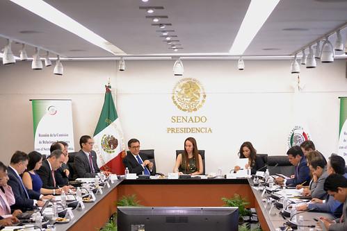 Comisión de Relaciones Exteriores. 7/Ago/17