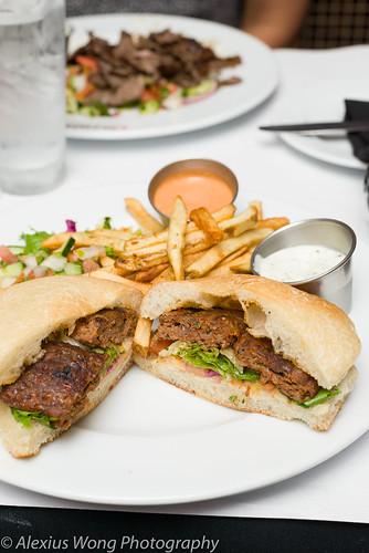 Kofte Kebap Sandwich, Cazbar, MD