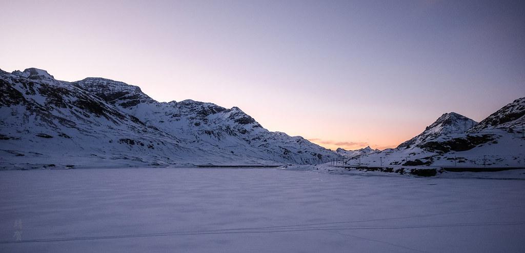Lago Bianco panorama