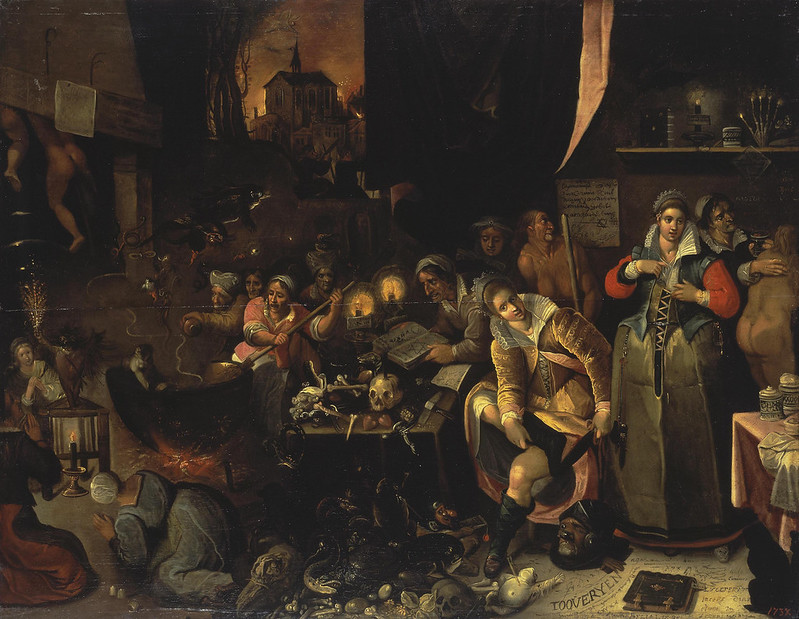 Frans Francken the Younger -  Witches' Kitchen, 1606