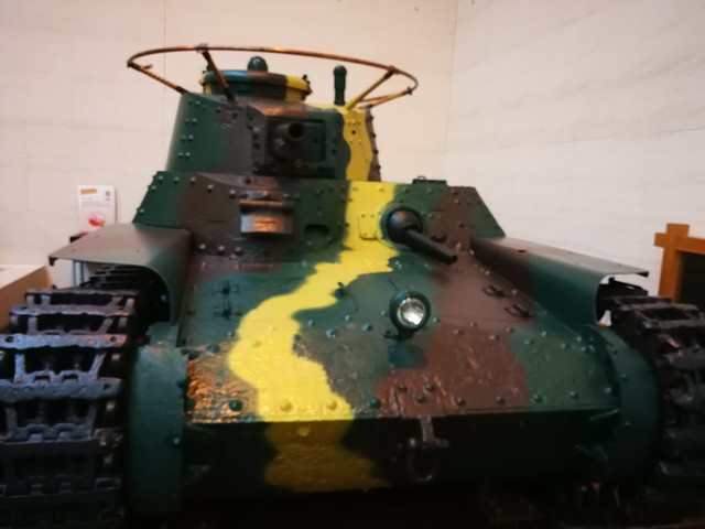 Model 97 1937 Medium Tank Yusukuni War Museum