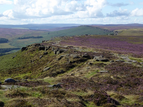 Stanage Edge from the Cowper Stone