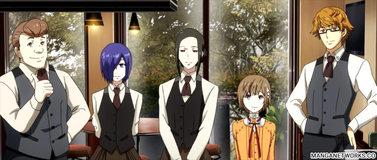 36313791660 aff678098f o Cùng nhìn lại Anime Tokyo Ghoul √A: Chất về hình thức   Hời hợt về nội dung