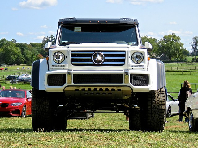 Mercedes 4x4 Squared