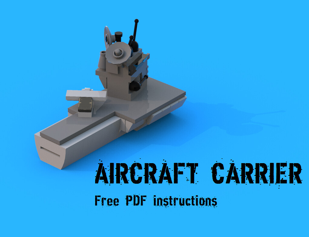 Lego cargo carrier instructions 4030, boats.