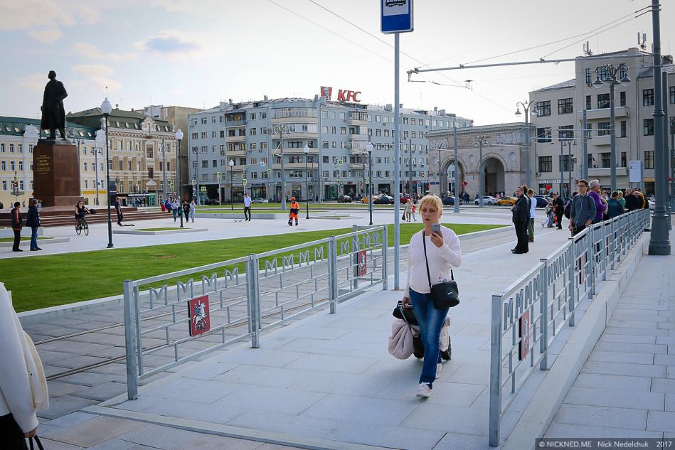 Площадь у Белорусского вокзала просто не узнать! IMG_4239