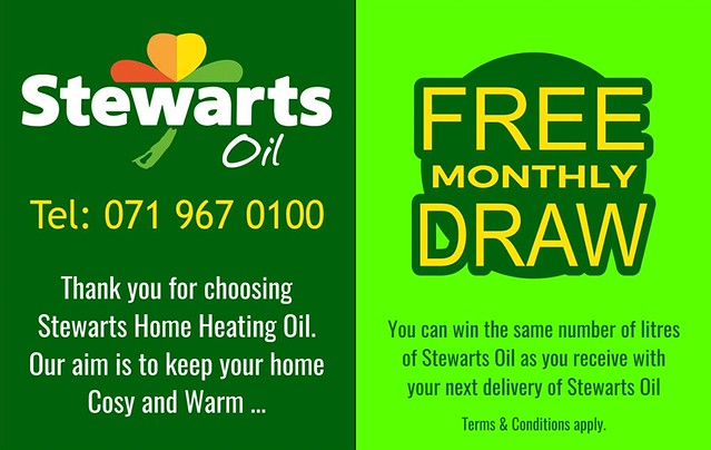 Stewarts Oil Monthly Draw