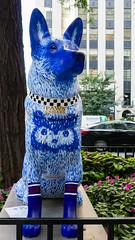 "K9s for Cops Public Art Campaign - ""Champ"" by Megan King"