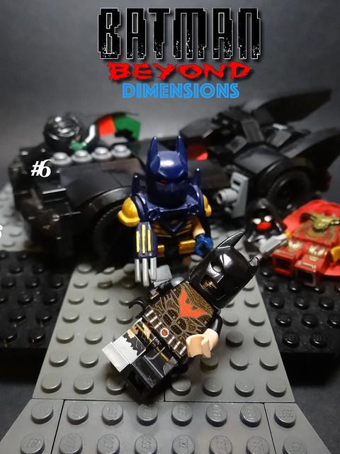 Batman Beyond Dimensions #6, Sony DSC-HX200V