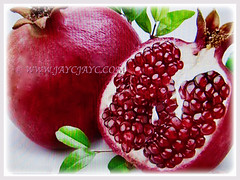 Punica granatum (Pomegranate, Buah Delima in Malay) packed with potent antioxidants to safeguard our health, 23 Aug 2017