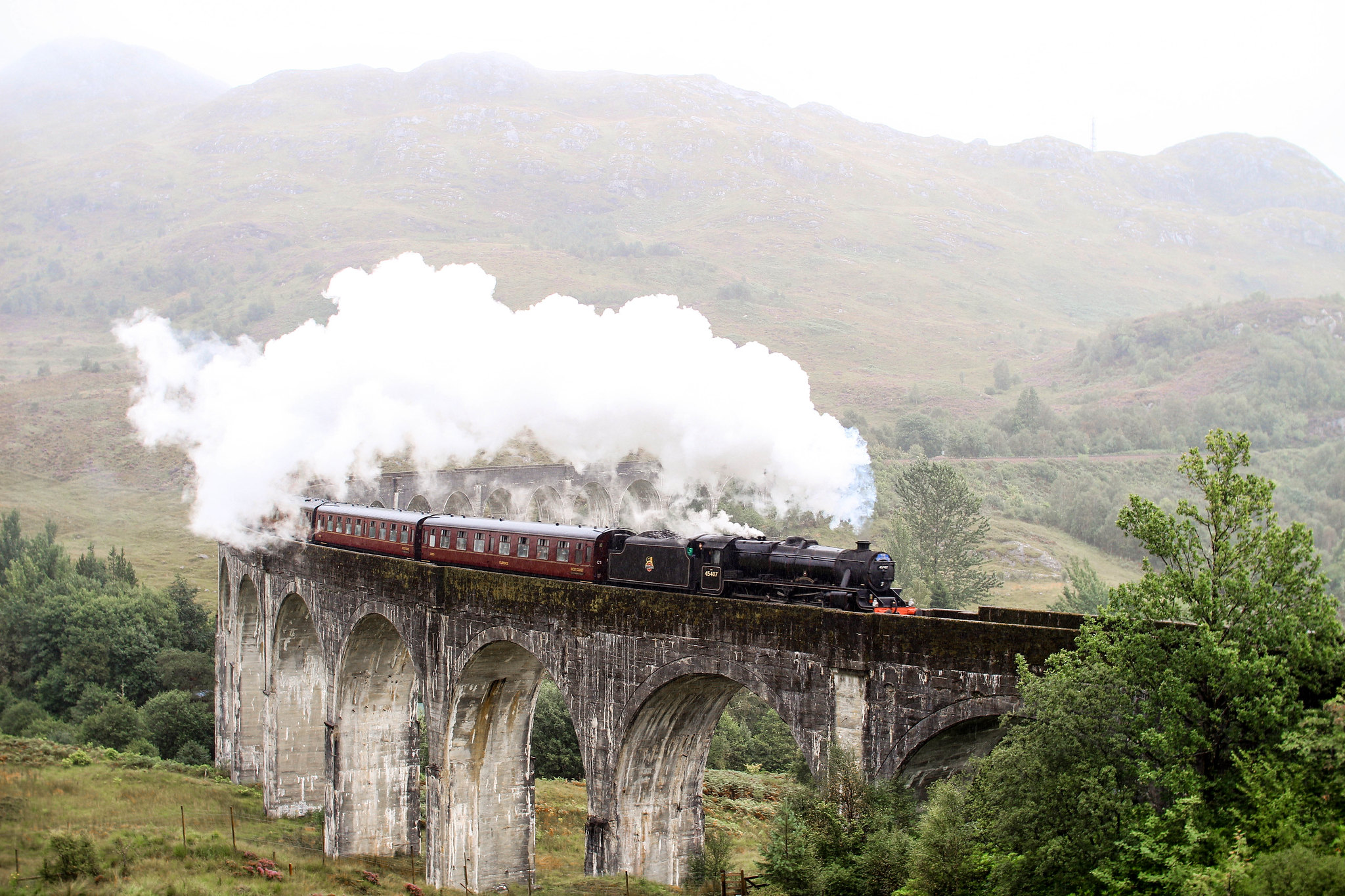 Fort William Jacobite Steam Train Hogwarts Express Harry Potter travel blogger UK