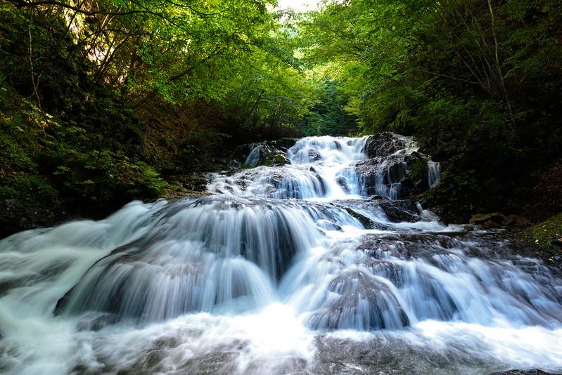 Uodome (meaning fish stopper) waterfall,Karuizawa NAGANO