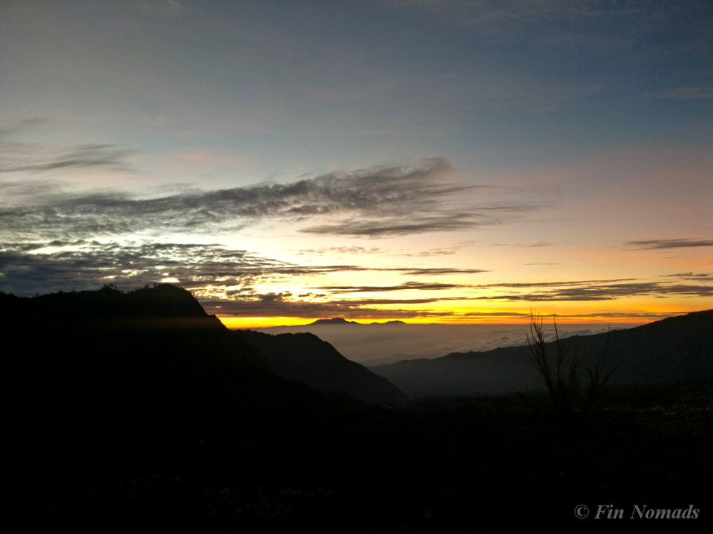 sunrise bromo mountain