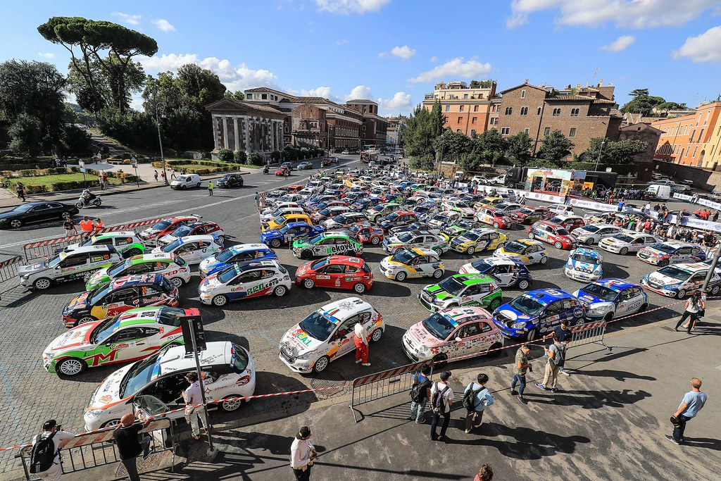 ambiance Roma during the 2017 European Rally Championship ERC Rally di Roma Capitale,  from september 15 to 17 , at Fiuggi, Italia - Photo Jorge Cunha / DPPI