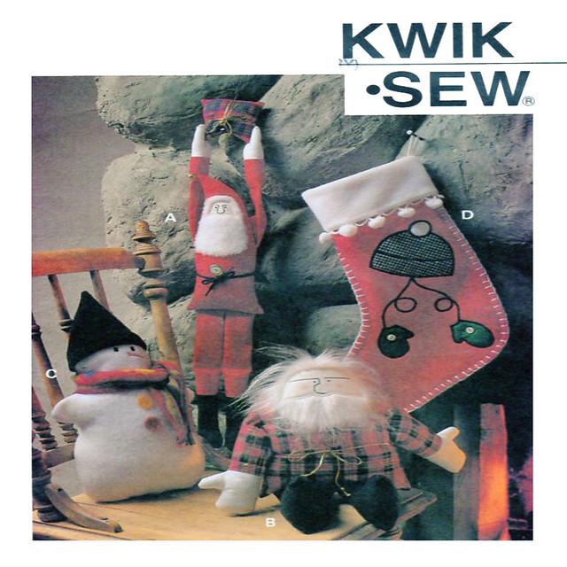 Kwik Sew 2614 Rustic Christmas Decor