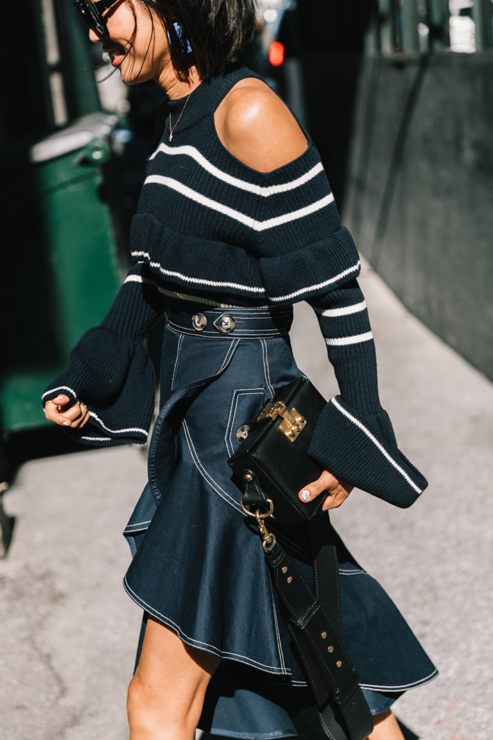 best new york street style fashion week trend style outfit 11