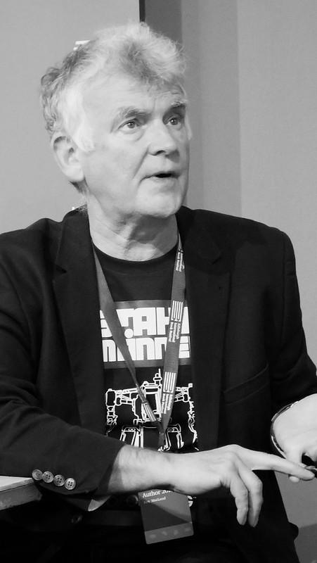 Edinburgh International Book Festival 2017 - Charlie Stross Jo Walton & Ken MacLeod 04