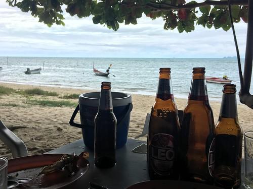 今日のサムイ島 8月17日 2日連続ローカルシーフード食堂‐Siriphoca