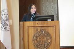 Carola Canelo en charla UCSC