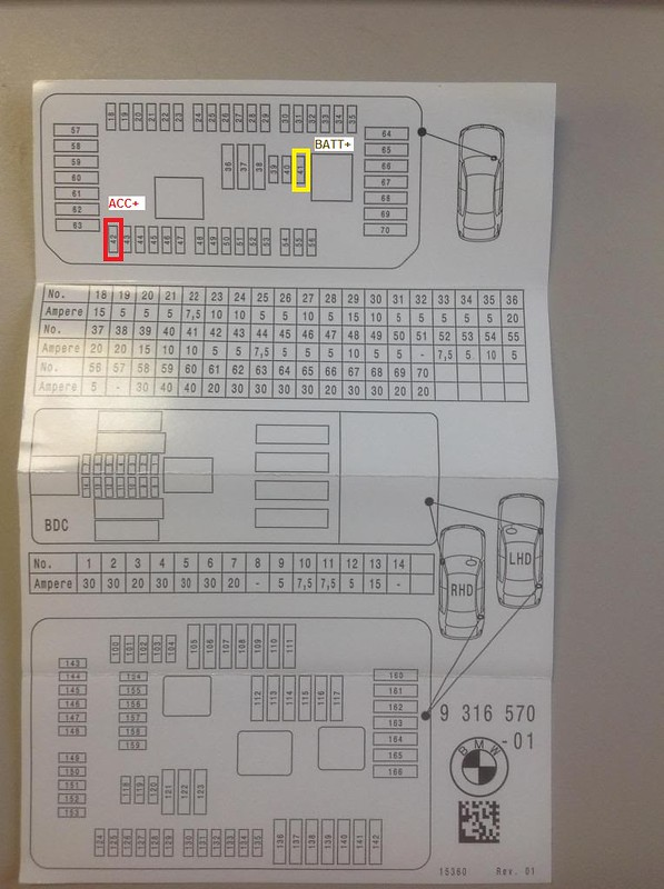 Fuse Box Diagram For Passenger Footwell