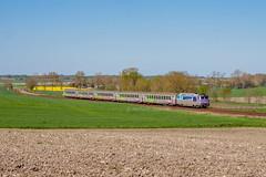 18 avril 2016 BB 67437 Train 3835 Nantes -> Bordeaux Chartuzac (17) - Photo of Jussas