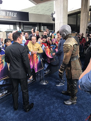 new Klingon at the Star Trek Discovery Premiere - IMG_9966