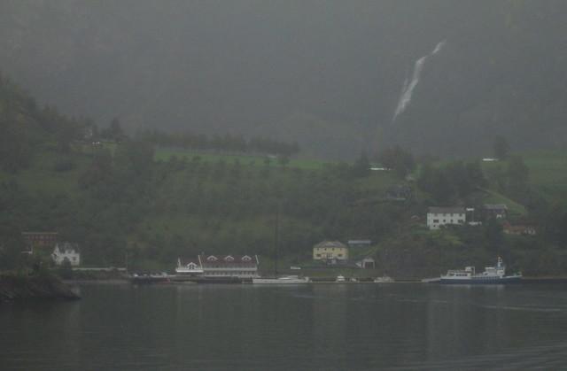 Aurlandsfjord houses