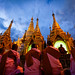 The Night of Offerings at the Shwedagon Pagoda (Yangon, Myanmar 2013) by Alex Stoen