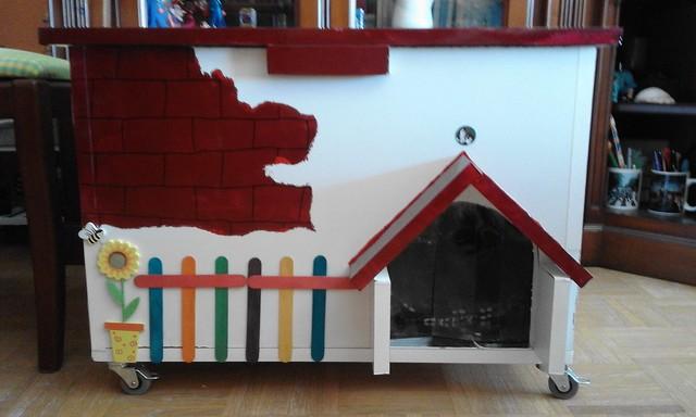 Diy c mo hacer una casa sencilla de madera para gatos victorhckinthefreeworld - Casa gatos exterior ...
