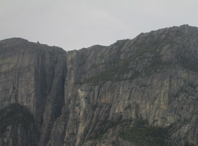 Pulpit Rock, Lysefjord, Closer View
