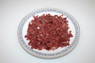 11 - Zutat Schinkenwürfel / Ingredient diced bacon