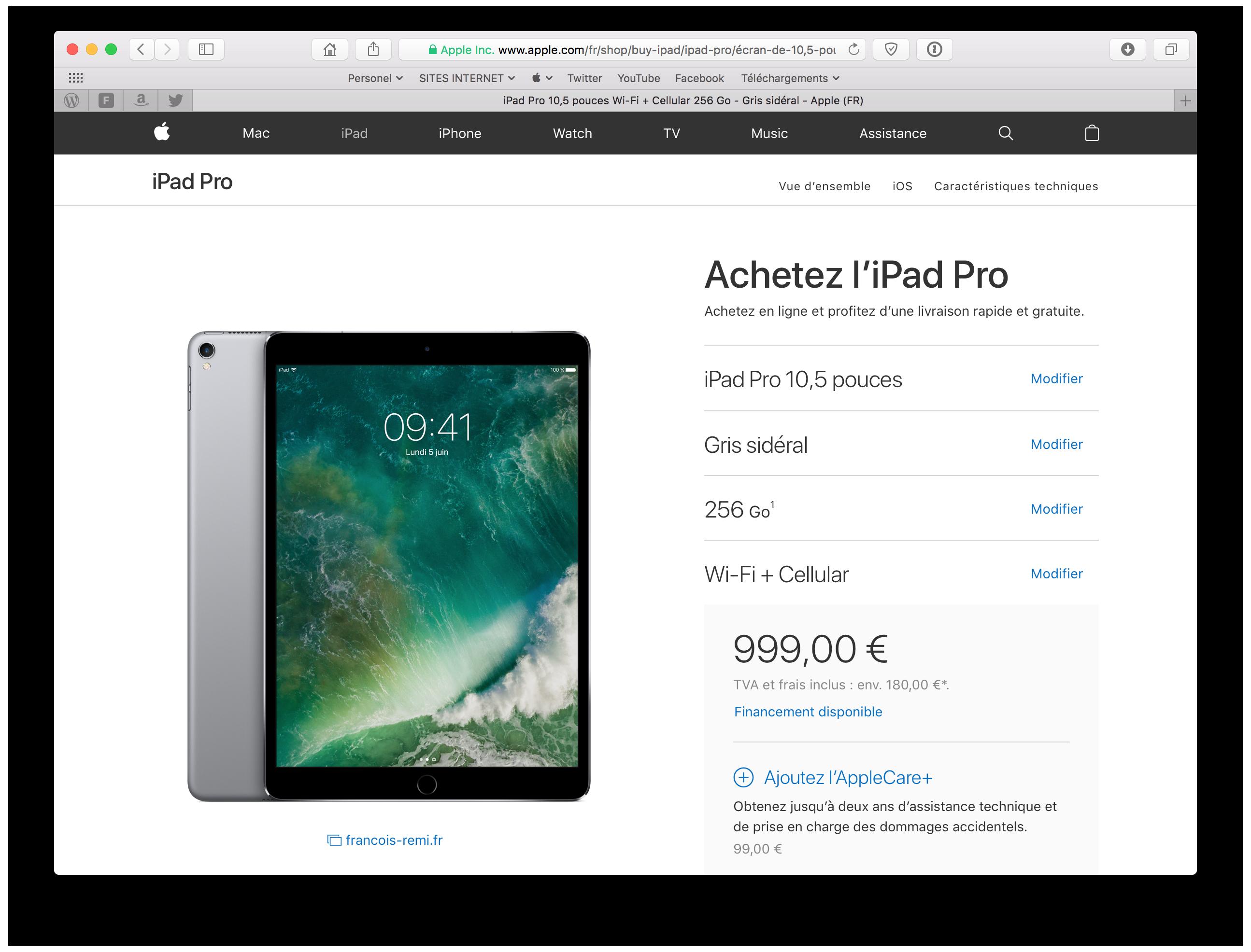 20170820 Première prise en main de l'iPad Pro 10,5'' 37