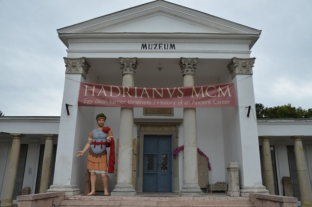'Hadrianus MCM - History of an Ancient Career' exhibition in Budapest
