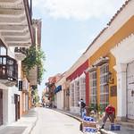 Una calle de Cartagena