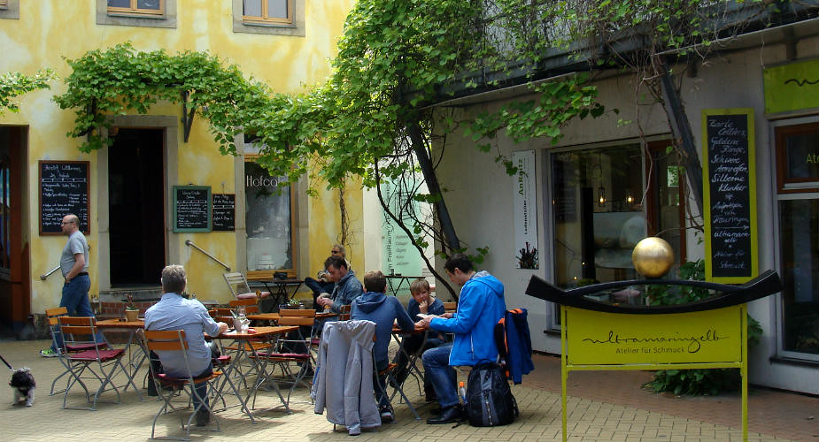 Eten en drinken in Neustadt, Dresden: Hofcafé | Mooistestedentrips.nl