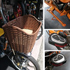 396-812-PB03 艾瑋克電動自行車EPK-812S-純粹橘350W電機48V12AH鉛酸電池18吋2.125輪胎(含塑膠車籃充電器)