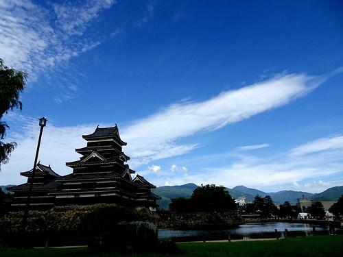漆黒の松本城