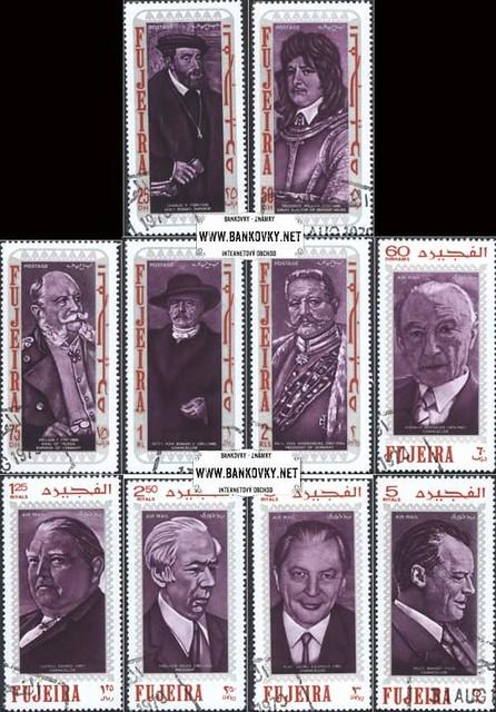 Známky Fujeira 1970 Svetové politické osobnosti