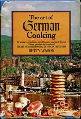 ephemera - The Art of German Cooking 1967