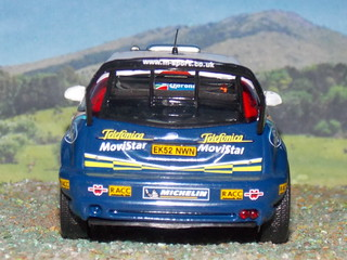 Ford Focus WRC - Mexico 2005 - Altaya
