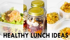 3 Healthy Lunch Ideas, Meal Prep [Vegetarian + Vegan options] // Rachel Aust