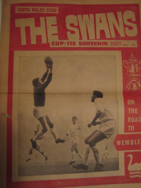 Swansea City v Preston North End 1964 FA Cup