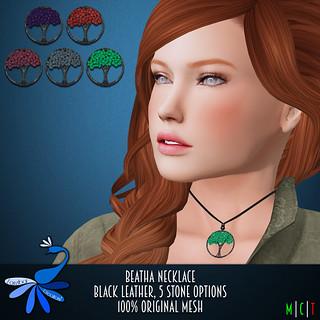 ZcZ Beatha Necklace - black